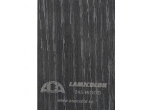 Пластик Lamicolor  745-Wood Черный венге 3050х1300х0,7мм